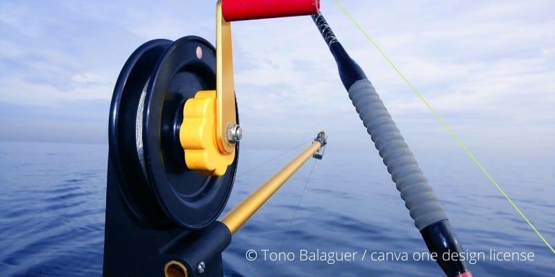 So hilft dir der Downrigger beim Schleppfischen auf dem Meer